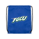 Royal Drawstring Backpack-FGCU