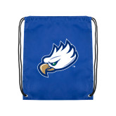 Royal Drawstring Backpack-Eagle Head