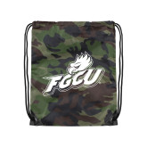 Camo Drawstring Backpack-Primary Athletic Mark