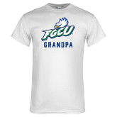 White T Shirt-Grandpa