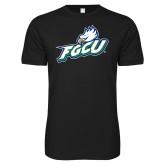 Next Level SoftStyle Black T Shirt-Primary Athletic Mark