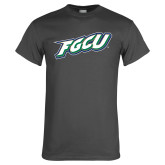 Charcoal T Shirt-FGCU