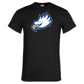 Black T Shirt-Eagle Head