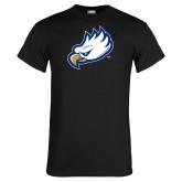 Black T Shirt-Eagle Head