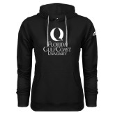 Adidas Climawarm Black Team Issue Hoodie-University Mark Stacked