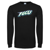 Black Long Sleeve TShirt-FGCU