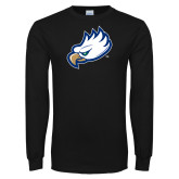 Black Long Sleeve TShirt-Eagle Head