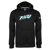 Under Armour Black Performance Sweats Team Hood-FGCU