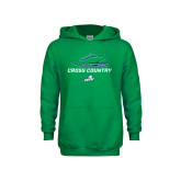 Youth Kelly Green Fleece Hoodie-Cross Country Shoe