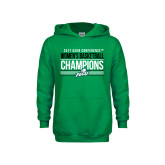 Youth Kelly Green Fleece Hoodie-Asun Conference 2017 Womens Basketball Champions