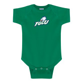 Kelly Green Infant Onesie-Primary Athletic Mark