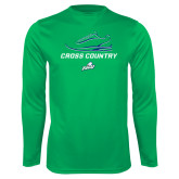 Syntrel Performance Kelly Green Longsleeve Shirt-Cross Country Shoe
