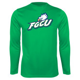 Syntrel Performance Kelly Green Longsleeve Shirt-Primary Athletic Mark