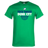 Kelly Green T Shirt-Dunk City Stacked w/ Net