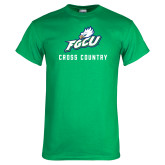 Kelly Green T Shirt-Cross Country