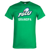 Kelly Green T Shirt-Grandpa