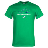 Kelly Green T Shirt-Cross Country Shoe