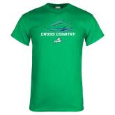 Kelly Green T Shirt-Cross Country Shoe