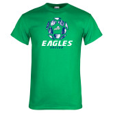 Kelly Green T Shirt-Soccer Ball Design