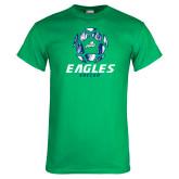 Kelly Green T Shirt-Soccer Ball Design