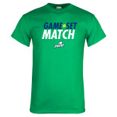Kelly Green T Shirt-Game Set Match Tennis