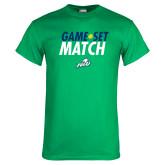 Kelly Green T Shirt-Game Set Match Tennis