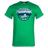 Kelly Green T Shirt-ASUN Champions 2017 Mens Basketball