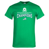 Kelly Green T Shirt-2018 Womens Basketball Champions
