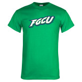 Kelly Green T Shirt-FGCU