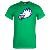 Kelly Green T Shirt-Eagle Head