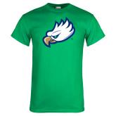 Kelly Green T Shirt-Eagle Head