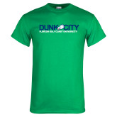 Kelly Green T Shirt-Dunk City Official Logo