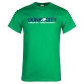 Kelly Green T Shirt-Dunk City Official Logo
