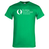 Kelly Green T Shirt-University Mark Flat