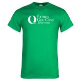 Kelly Green T Shirt-University Mark Flat