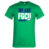 Kelly Green T Shirt-We Are FGCU