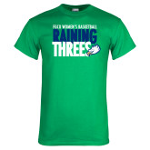 Kelly Green T Shirt-Raining Threes