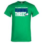 Kelly Green T Shirt-Raining Threes