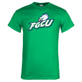 Kelly Green T Shirt-Primary Athletic Mark Distressed