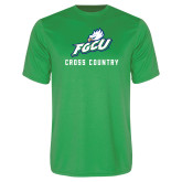 Performance Kelly Green Tee-Cross Country
