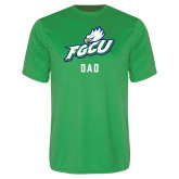 Syntrel Performance Kelly Green Tee-Dad