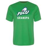 Performance Kelly Green Tee-Grandpa