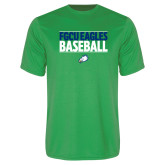 Syntrel Performance Kelly Green Tee-Baseball Stacked