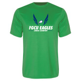 Performance Kelly Green Tee-Cross Country Wings