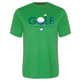 Performance Kelly Green Tee-Golf Flag and Ball