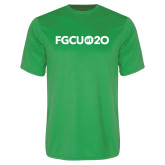 Syntrel Performance Kelly Green Tee-FGCU at 20 Flat
