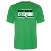Syntrel Performance Kelly Green Tee-Asun Conference 2017 Womens Basketball Champions
