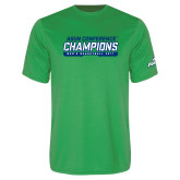 Syntrel Performance Kelly Green Tee-ASUN Champions 2017 Mens Basketball