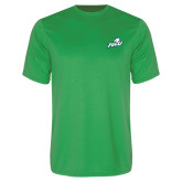 Performance Kelly Green Tee-Primary Athletic Mark