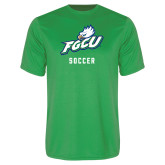 Syntrel Performance Kelly Green Tee-Soccer
